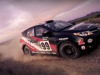 Toyota RAV4 en rallye