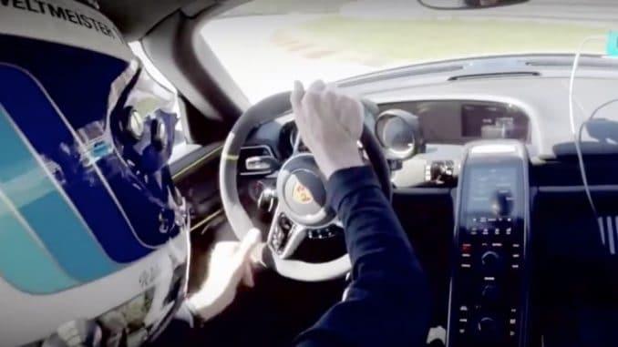 Walter Rohrl Crash Porsche 918