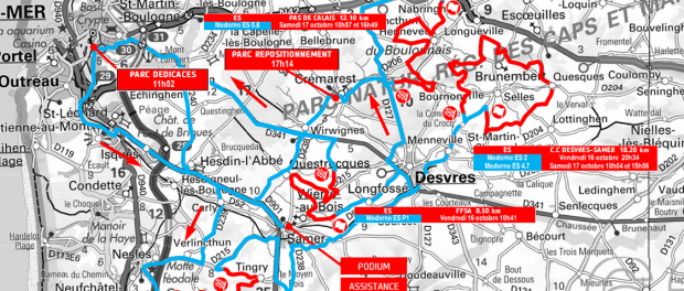 Carte Finale Rallyes 2015 Samer