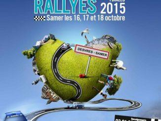 affiche Finale des rallyes 2015 Samer