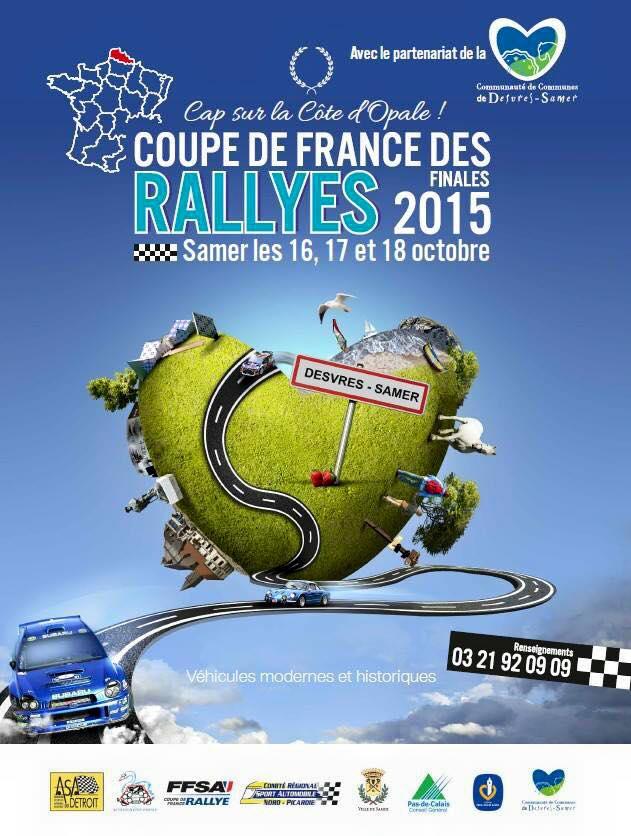 Programme finale rallyes 2015 samer pilote de course - Finale coupe de france des rallyes ...