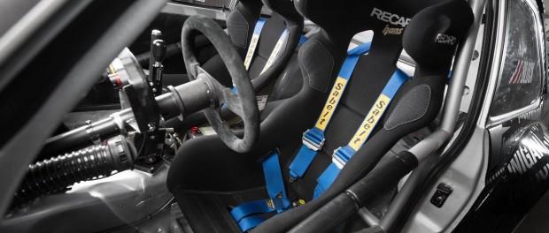 Ford Escort Mk2 Ken Block baquet