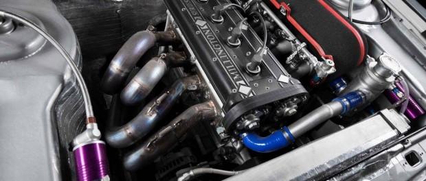 Ford Escort Mk2 Ken Block moteur