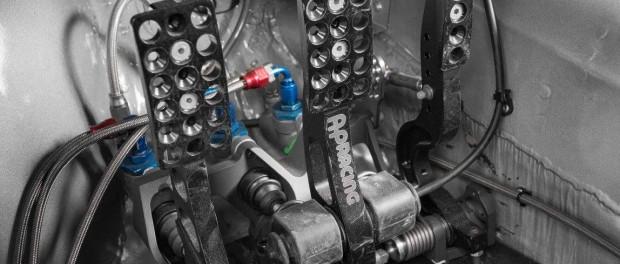 Ford Escort Mk2 Ken Block pédalier
