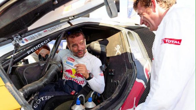 Loeb signe chez Peugeot - Loeb Rallye Maroc 2015 Etape 1