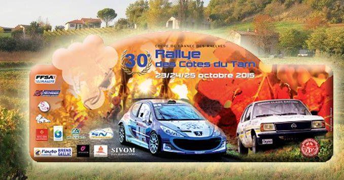 Programme Rallye des Côtes du Tarn 2015 : plaque