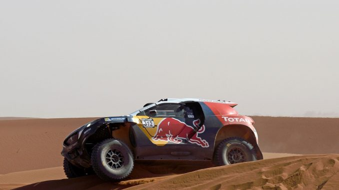 Rallye Maroc 2015 2008 DKR Loeb Dune