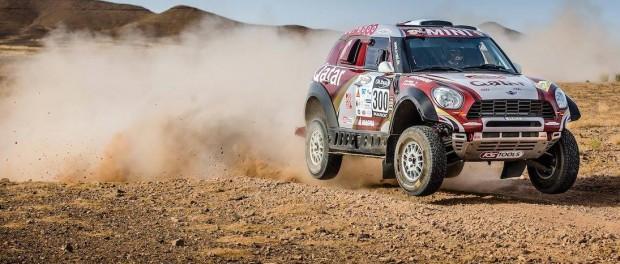 Rallye Maroc 2015 Nasser Al-Attiyah - Mathieu Baumel