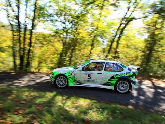 Rallye Sarlat 2015 Julien Marty BMW 318 Compact