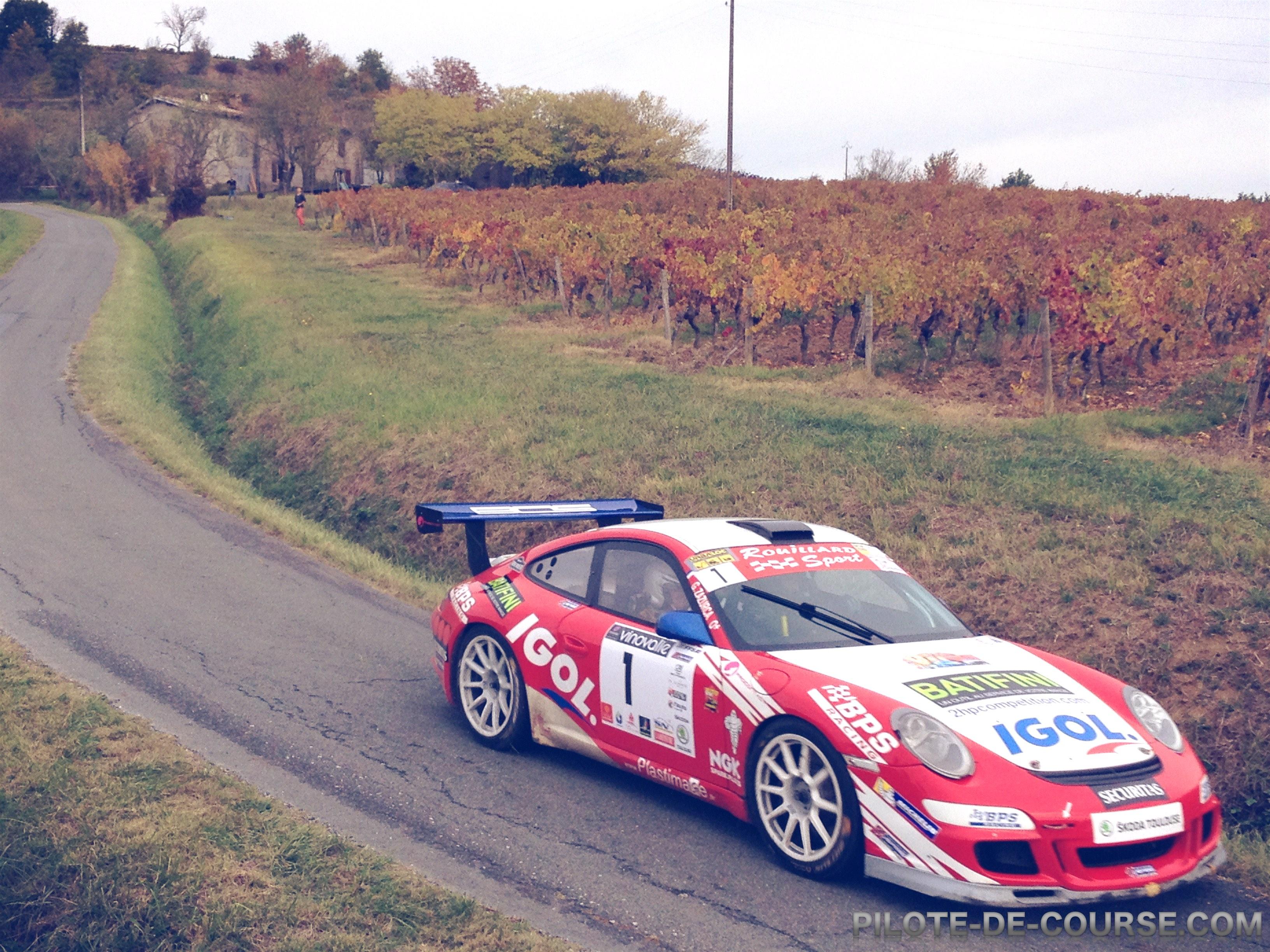 Rallye côtes du Tarn 2015 : Jour 1 Patrick Rouillard Porsche GT+