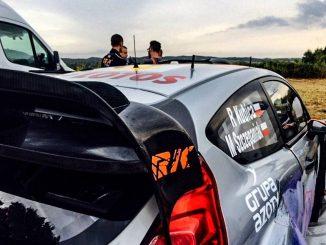 Shakedown Tour de Corse 2015 Kubica