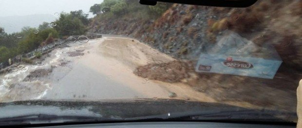 Tour de Corse 2015 pluie