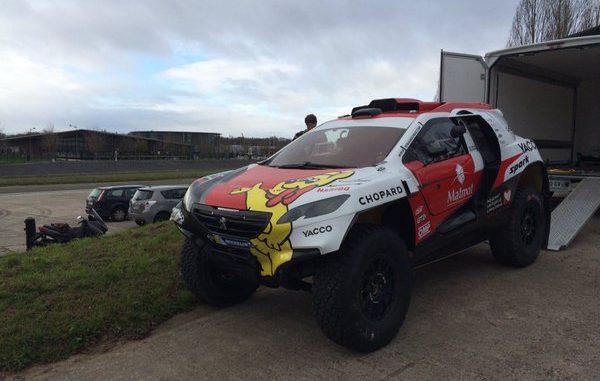 2008 DKR15+ Romain Dumas Dakar 2016