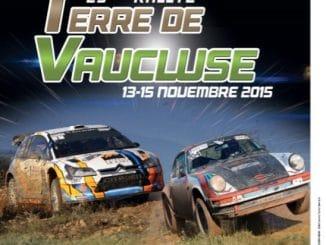 Rallye Terre de Vaucluse 2015