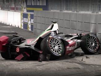 Crash Formule E 2015