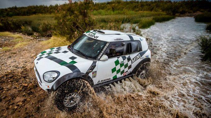 Mini (Hirvonen avant Dakar 2016)