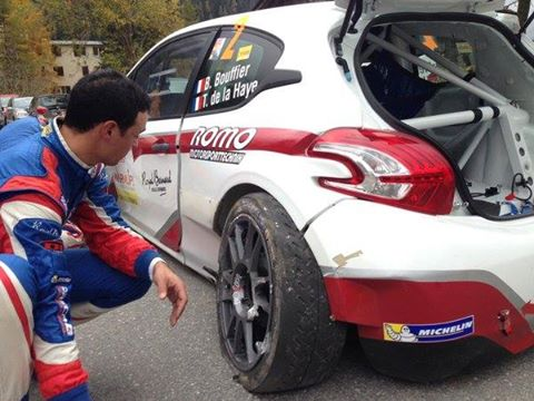 Rallye International du Valais 2015 Bryan Bouffier