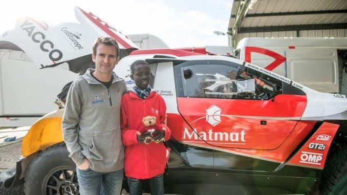 Romain Dumas Dakar 2016 en 2008 DKR15+