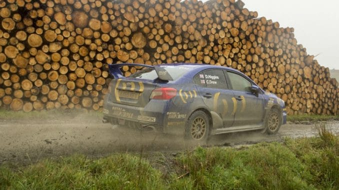 Subaru Higgins Wales Rally GB 2015