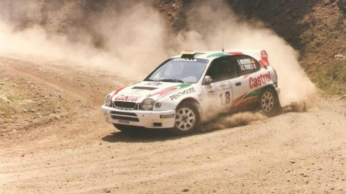 Anne Chantal Pauwels Corolla WRC TTE