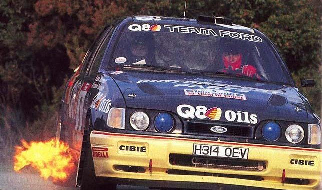 Anne Chantal Pauwels Ford Sierra