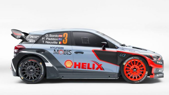 Hyundai i20 WRC 2016 profil