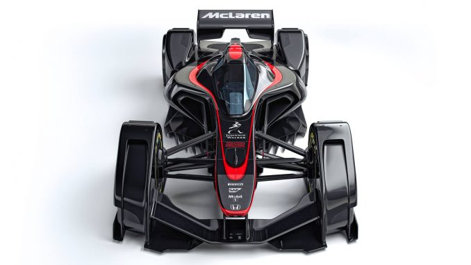 McLaren MP4-X Concept Car Avant