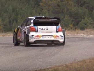 Test pré Rallye Monte Carlo 2016