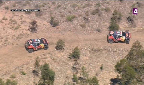 Despres Loeb Dakar 2016 Etape 11