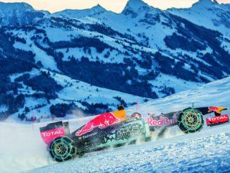 Une F1 sur la neige