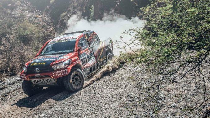 Giniel De Villiers Dakar 2016