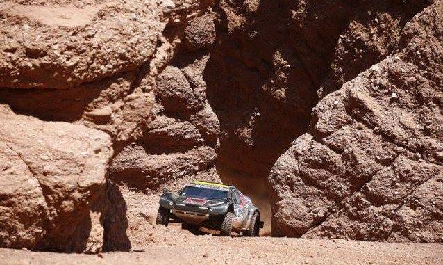 Mark Corbett Century Racing Dakar 2016