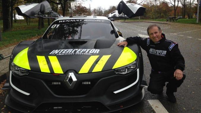 Jean Ragnotti et la Renault Sport RS 01 interceptor