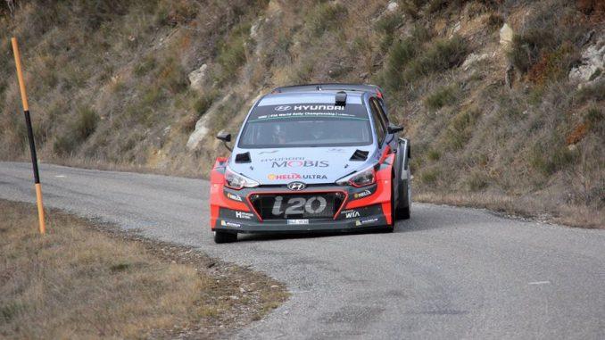 Test Sordo Rallye Monte Carlo 2016