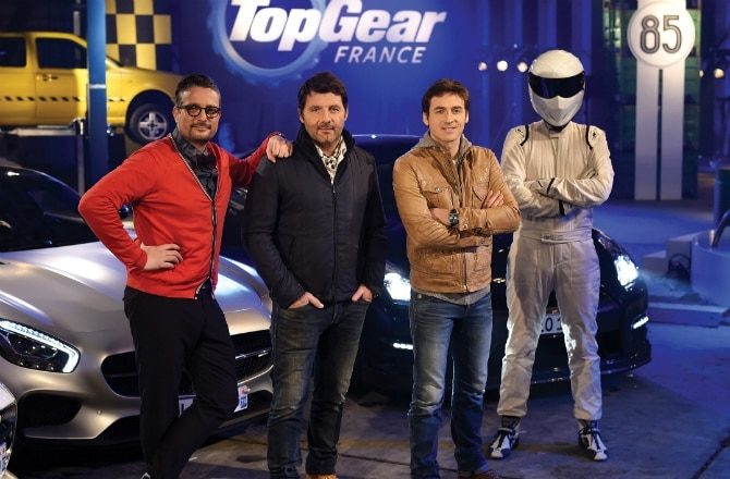 top gear france saison 2 en approche pilote de course. Black Bedroom Furniture Sets. Home Design Ideas