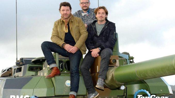 Top Gear France Saison 2 et son Char de l'armée