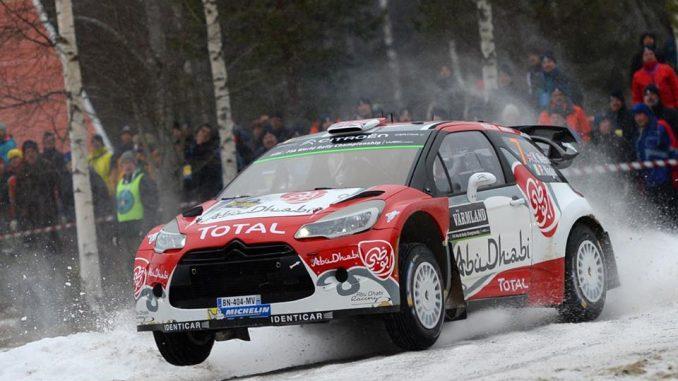 Engagés Rallye de Suède 2016