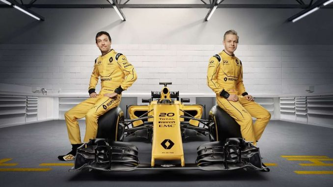 Les pilotes Renault F1 2016