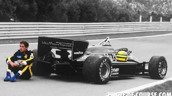 Premeirs succès de Ayrton Senna avec un moteur Renault