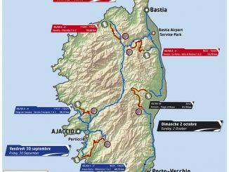 Parcours Tour de Corse 2016