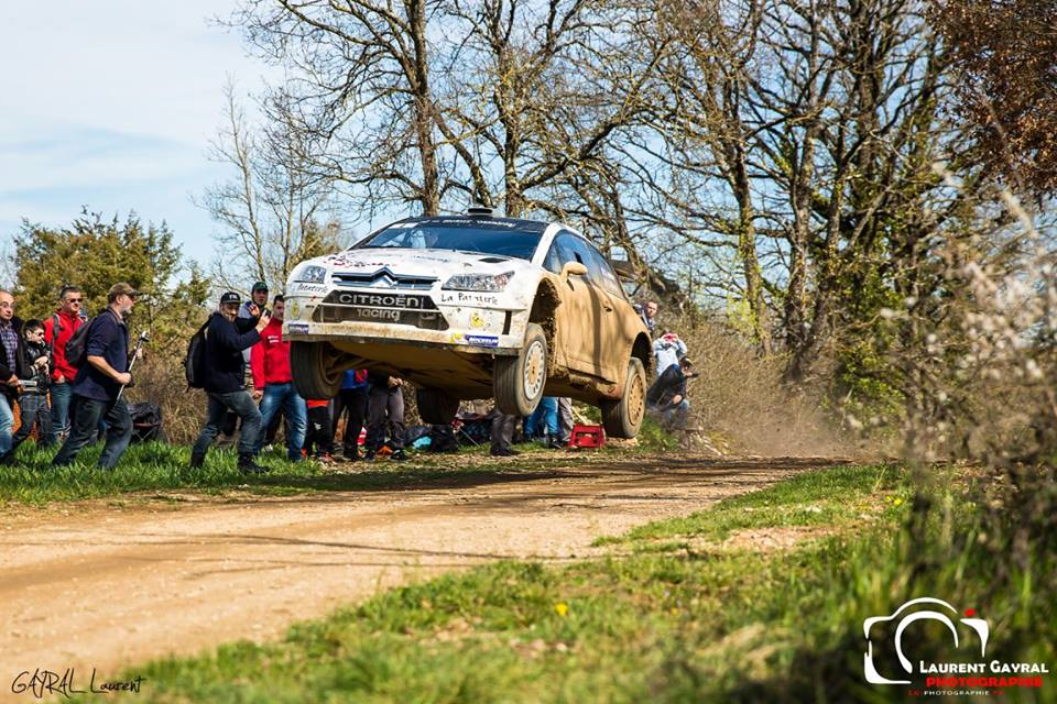 Stephane Lefebvre Rallye Terre des Causses 2016