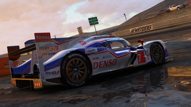 Toyota TS040 Hybride Project CARS
