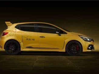 Clio RS 16 ne sera pas produite