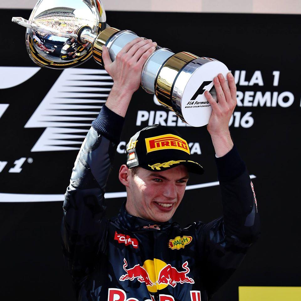 Max Verstappen GP Barcelone 2016
