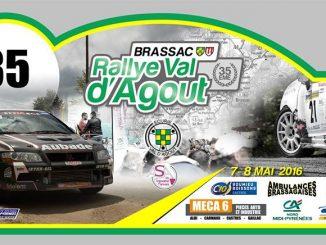 Engagés Rallye Val d'Agout 2016 Plaque Rallye Val d'Agout 2016