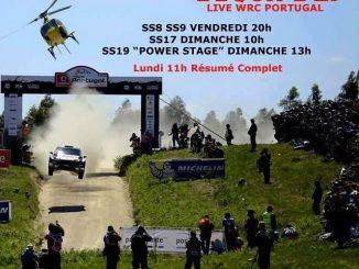 Horaires TV Rallye Portugal 2016