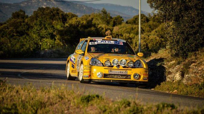 Rallye Sainte Baume 2016 Damien Oberti Clio Super 1600