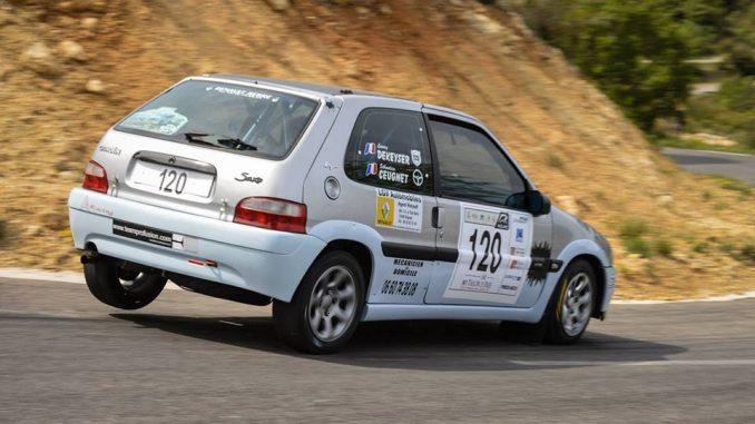 Rallye Sainte Baume 2016 Sébastien Ceugnet