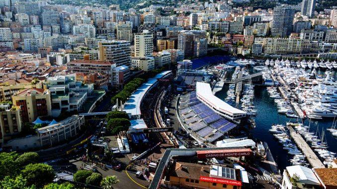 Vu circuit Monaco 2016 par Ferrari