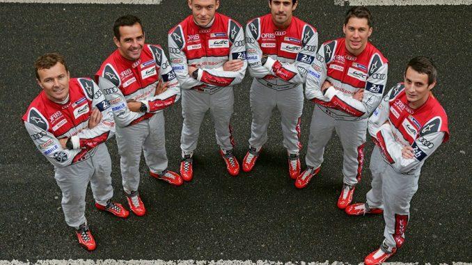 24 Heures du Mans 2016 Qualif 1 Pilotes Audi
